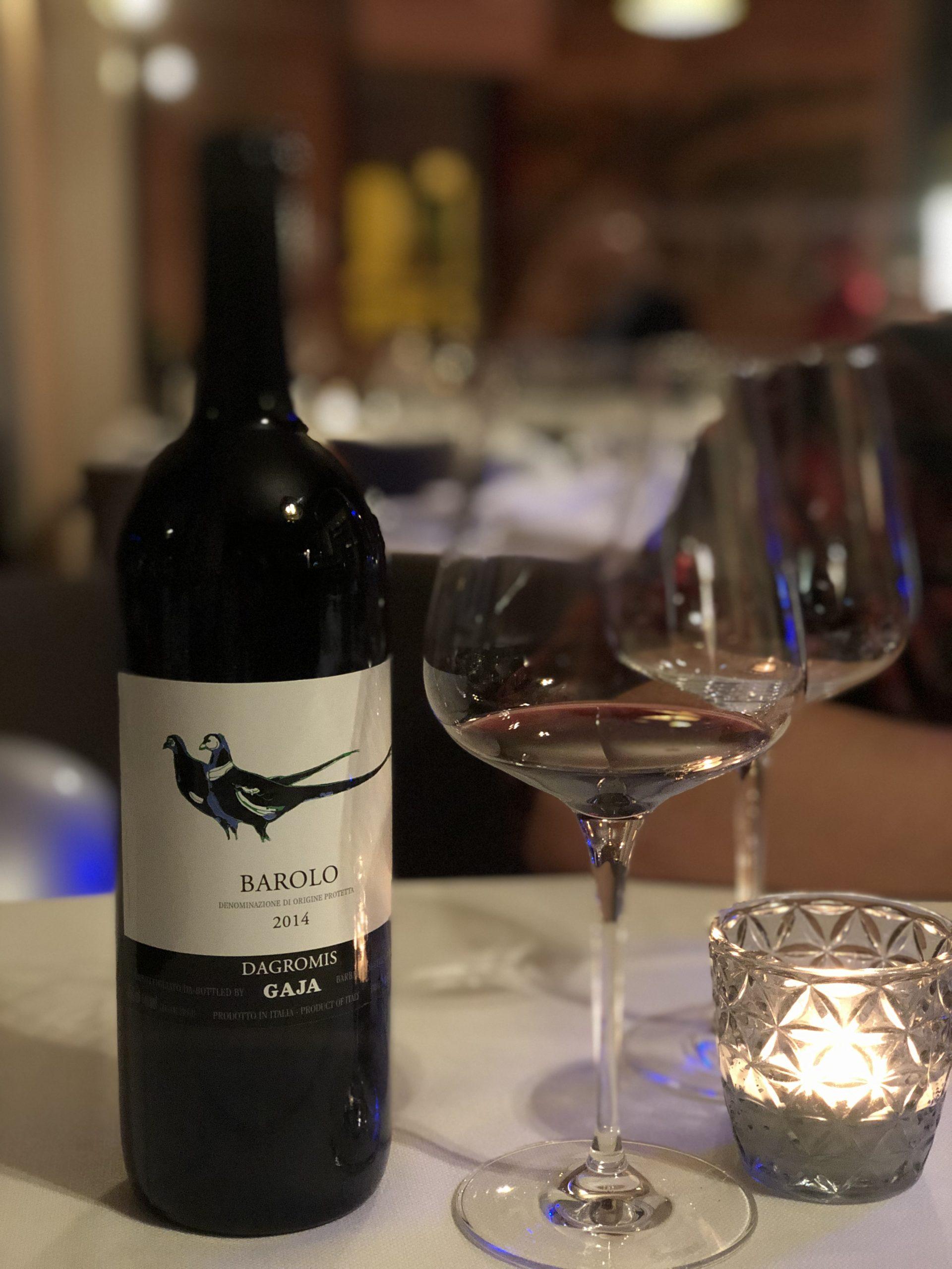 Exklusiver italienischer Wein